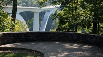 Behind The Scenes At The Natchez Trace Bridge Over Highway 96 In Franklin