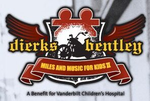 Dierks Bentley Hosts 'Miles And Music For Kids' A Motorcycle Ride On The Natchez Trace Parkway