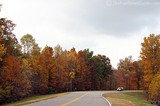 Another leisurely driver enjoying the beautiful fall colors along the Natchez Trace Parkway.