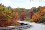 One of the smaller bridges along the Natchez Trace Parkway.
