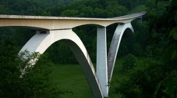 Natchez Trace Parkway Bridge Shows Its Age