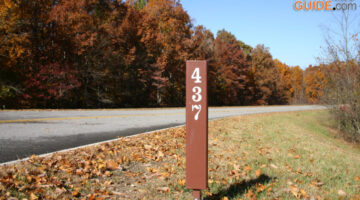 Where Are The Natchez Trace Parkway Milemarkers Located?