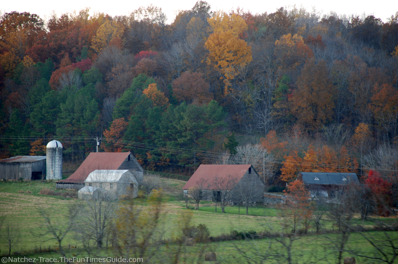 Fall Colors At The Judd s Family Farm As Seen From The Natchez Trace P
